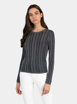 Пуловер GIADA в черен цвят - 1