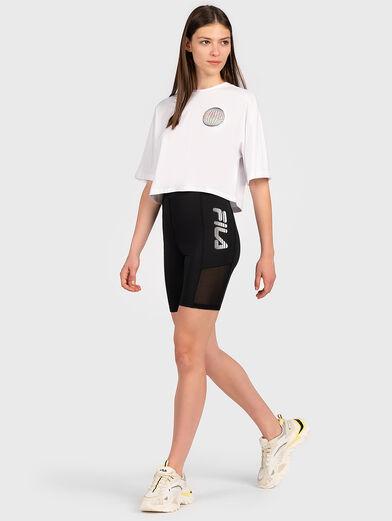 ANEMORE Shortened T-shirt - 4