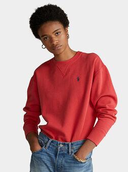 Sweatshirt with embroidered Pony logo - 1