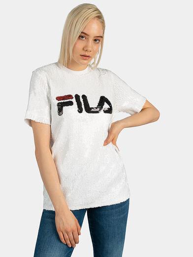 WOMEN KYO sequin t-shirt - 1