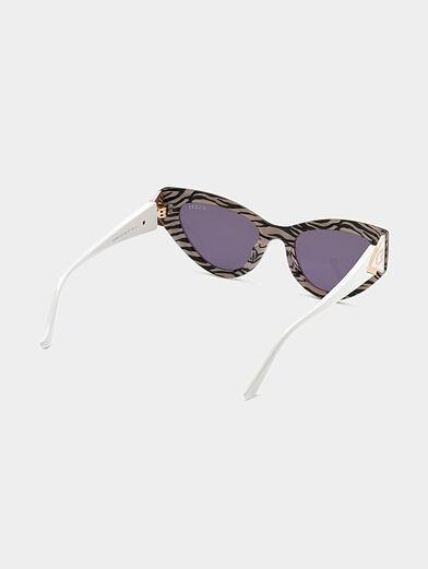 Sun glasses with animal print - 5
