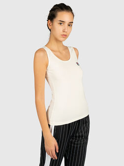 ANNA Top with logo patch - 1