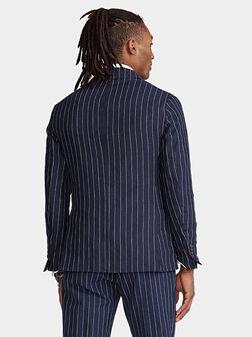 Blaser with striped print - 1