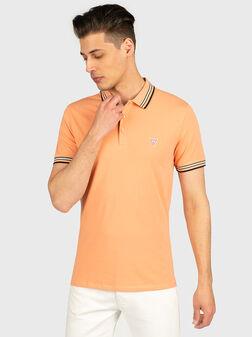 Поло-шърт NOLAN в оранжев цвят - 1