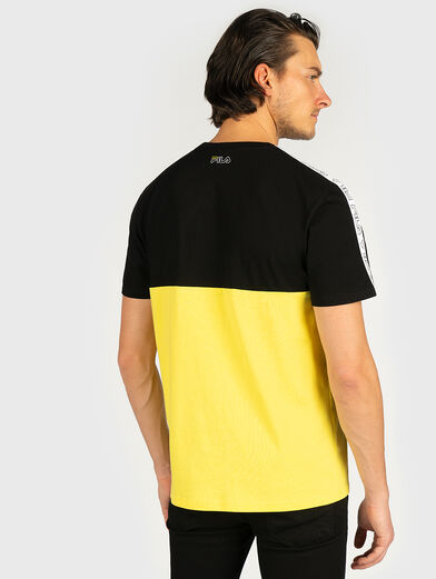 JOPI T-shirt in accentuating color - 2