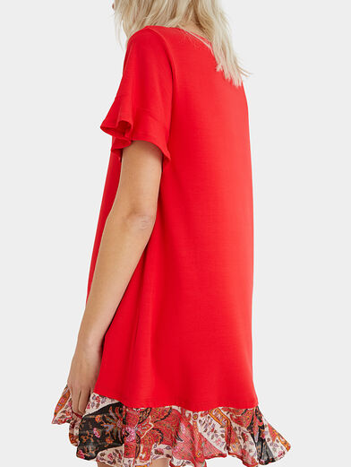 KALI Dress in red color - 3