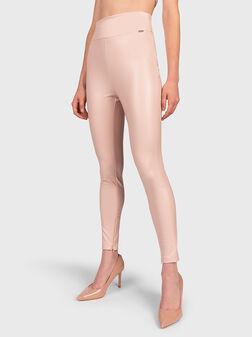 PRISCILLA Leggings from eco leather - 1