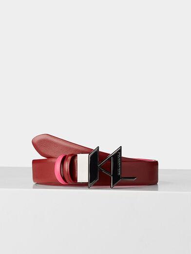Reversible belt - 1