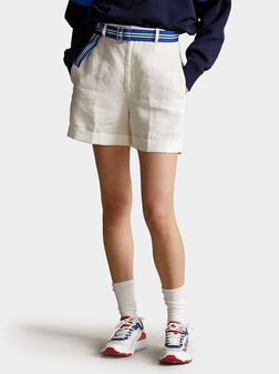 Ленен къс панталон LYDA - 1