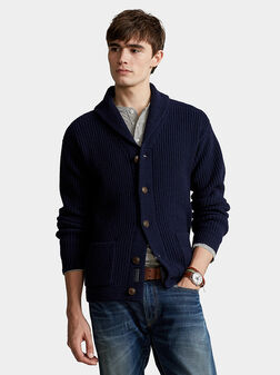 Wool and cashmere cardigan - 1