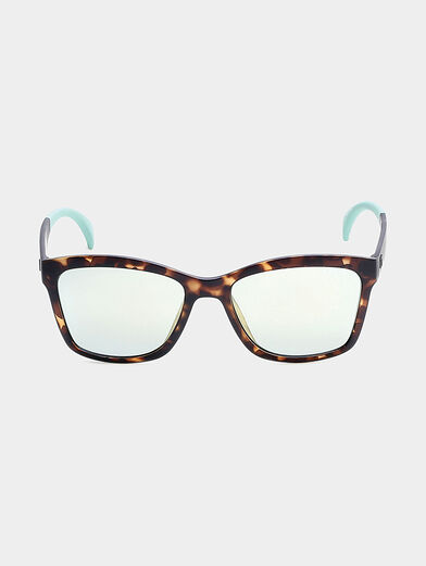 sun glasses with blue accents - 4