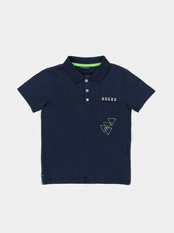 Cotton polo-shirt - 1