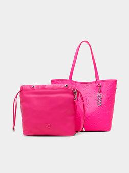 Чанта с релефно лого NORWICH - 1
