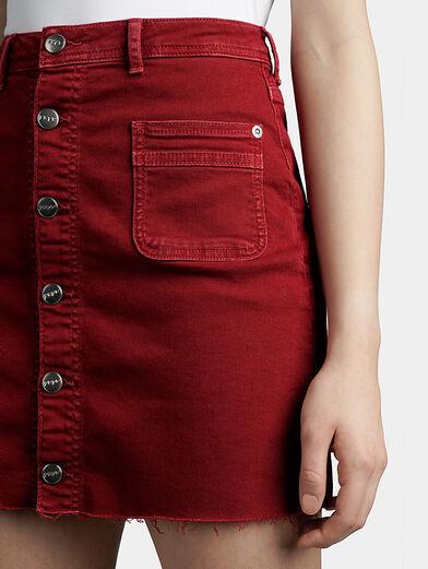 VICKY Denim mini skirt - 3
