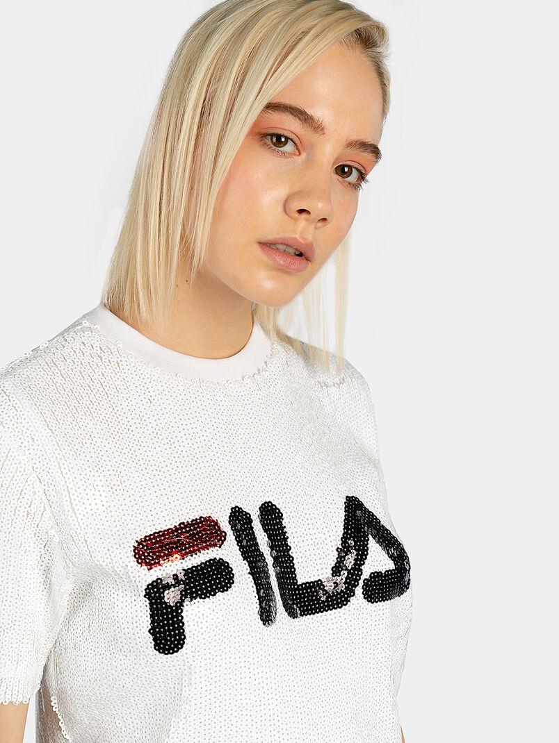 WOMEN KYO sequin t-shirt - 3