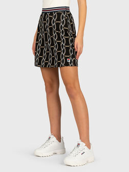 HADRIA Skirt with contrasting print - 1