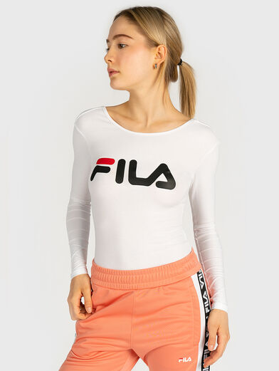 YULIA Cotton body with maxi logo - 1