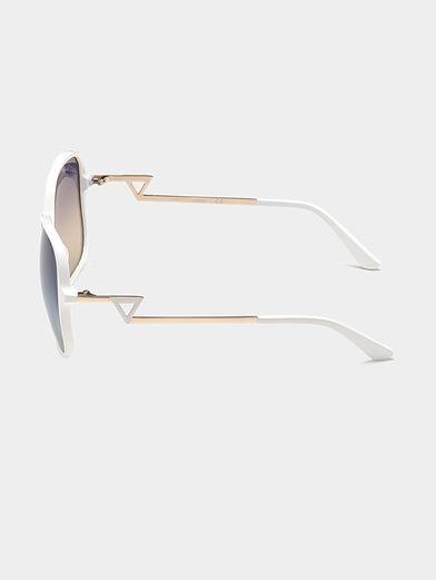 Square white sunglasses - 2