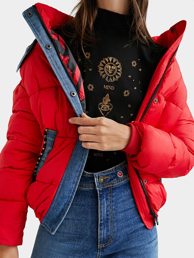 AUSTEN Padded jacket with removable hood - 5