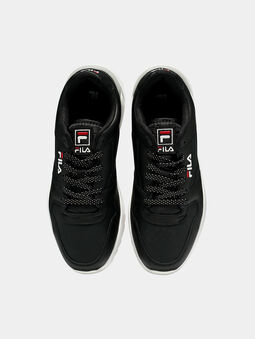 ORBIT CMR JOGGER L Black sneakers with contrasting sole - 5