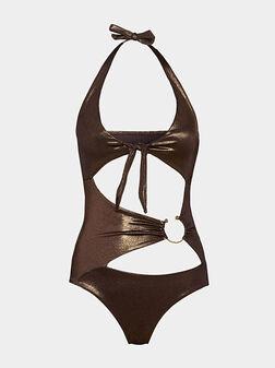 One-piece trikini swimsuit PIERCING - 1