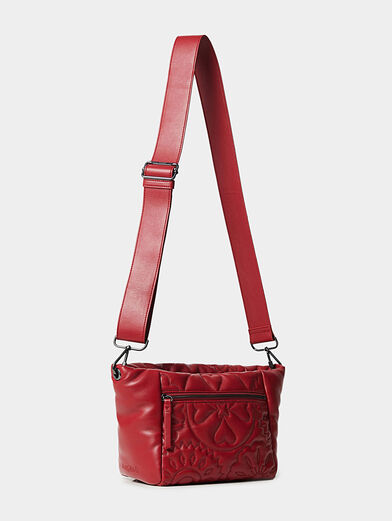 AMBER crossbody bag with quilted effect - 4