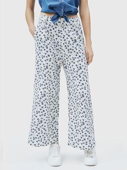 Панталон с контрастен принт  LOIS - 1