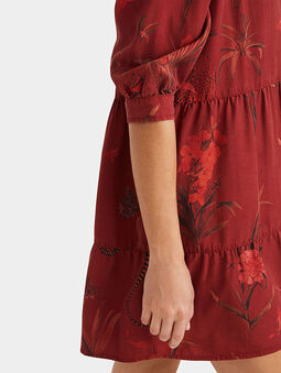 SEVILLA Dress with animal motifs - 3
