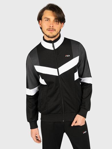 BATSON Sweatshirt with contrasting inserts - 1