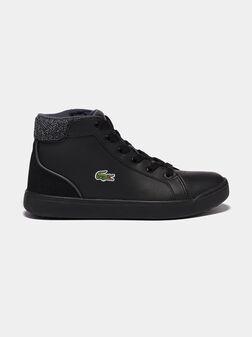 Черни високи обувки EXPLORATEUR LACE 317 - 1