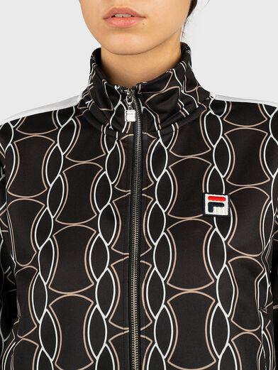 HADA Sweatshirt with contrasting print - 3