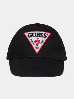 Бейзболна шапка с лого бродерия - 1