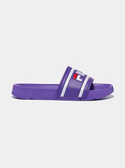 Виолетови чехли MORRO BAY - 1