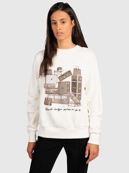 Cotton sweatshirt - 1