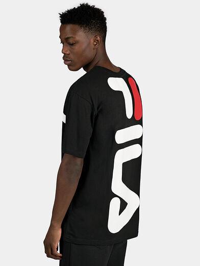 ANATOLI Black T-shirt with back maxi logo - 2