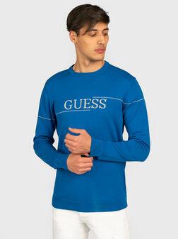 Пуловер JAY в син цвят - 1