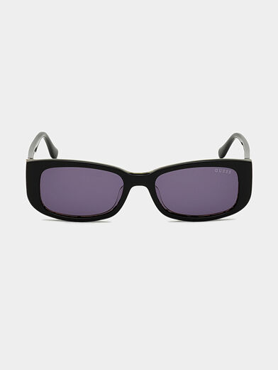 Sun glasses with black frames and logo detail - 6
