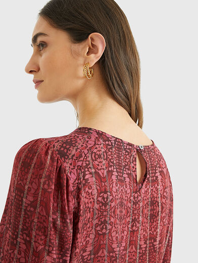 BUTTERFLY Blouse with puff sleeves - 6