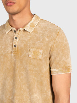 Polo-shirt with washed effect - 1