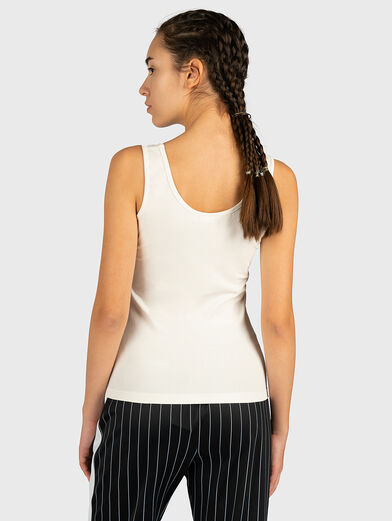 ANNA Top with logo patch - 2