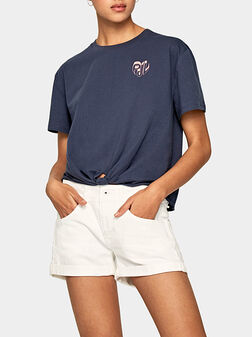 Памучна тениска FLEUR - 1