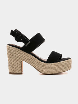 BLEAN SUE Suede sandals - 1