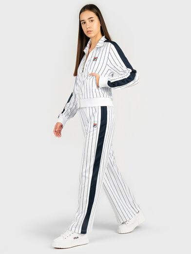 HALA Striped sweatshirt  - 4