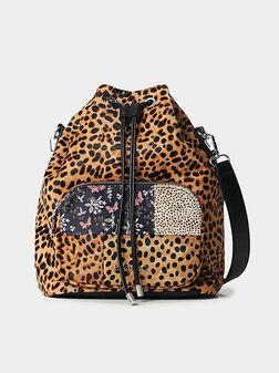 Чанта с животински принт - 1