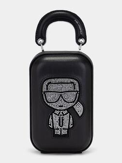 Чанта за телефон K/Ikonik с апликирани кристали - 1