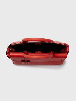 K/IKON Leather top handle bag - 4
