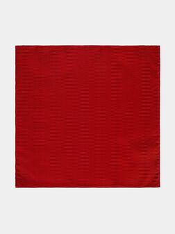 Red silk handkerchief - 1