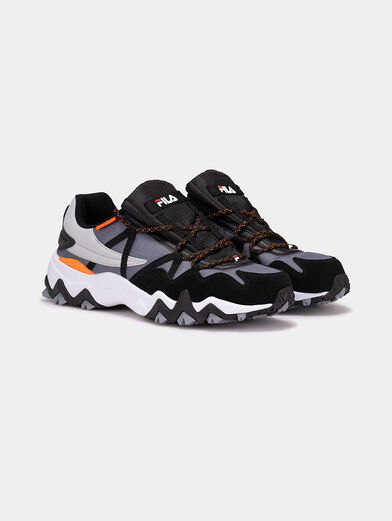 TRAIL-R CB Sneakers with mix of textures - 2