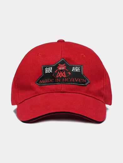 Navy blue unisex baseball hat - 2