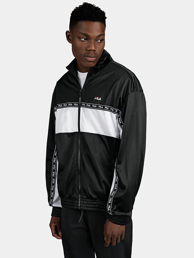 HACHIRO Track jacket in black - 1
